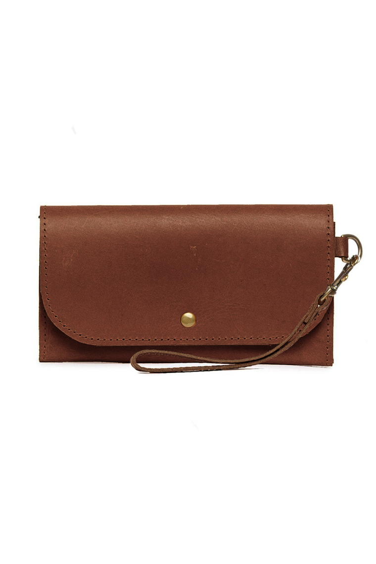MARE PHONE WALLET - WHISKEY