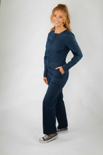 Roamers - Madryn Coveralls - Cool Navy - Front