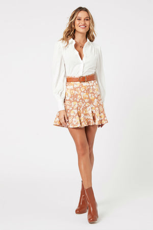 MinkPink - El Royale Mini Skirt - Multi - Front
