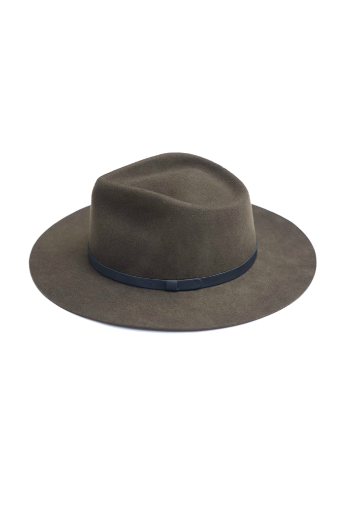 Yellow 108 - Dylan Fedora - Olive - Side