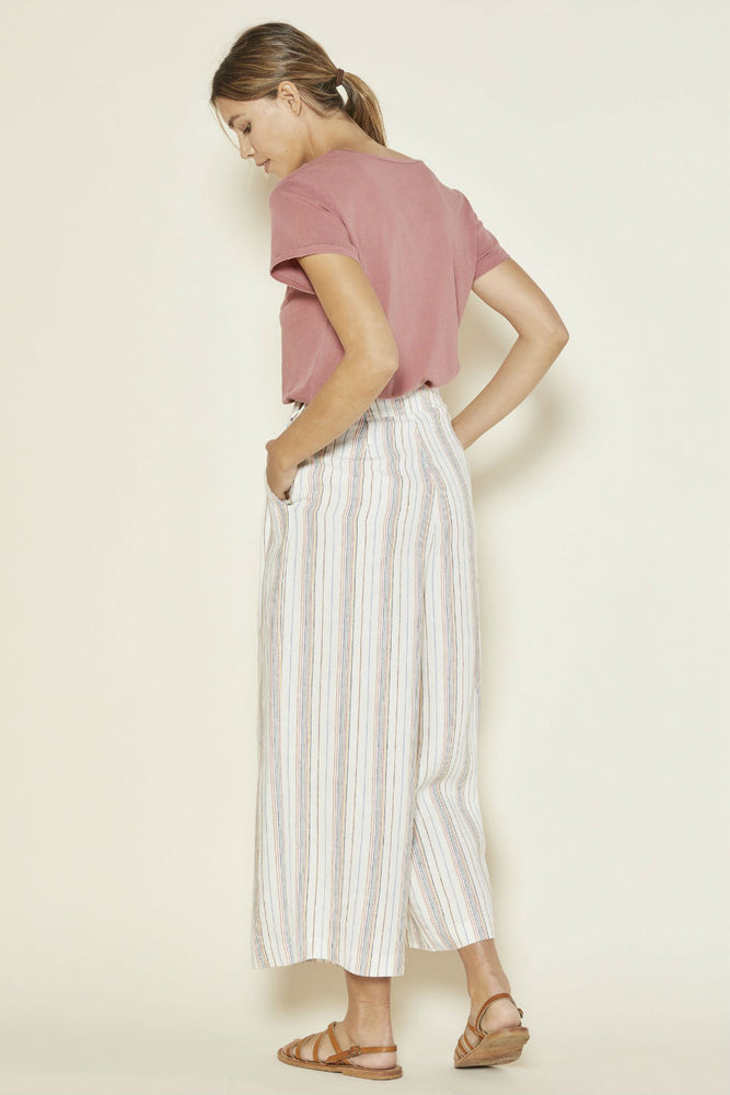 Outerknown - Eclipse Pleated Pant - Ventura Blue - Detail