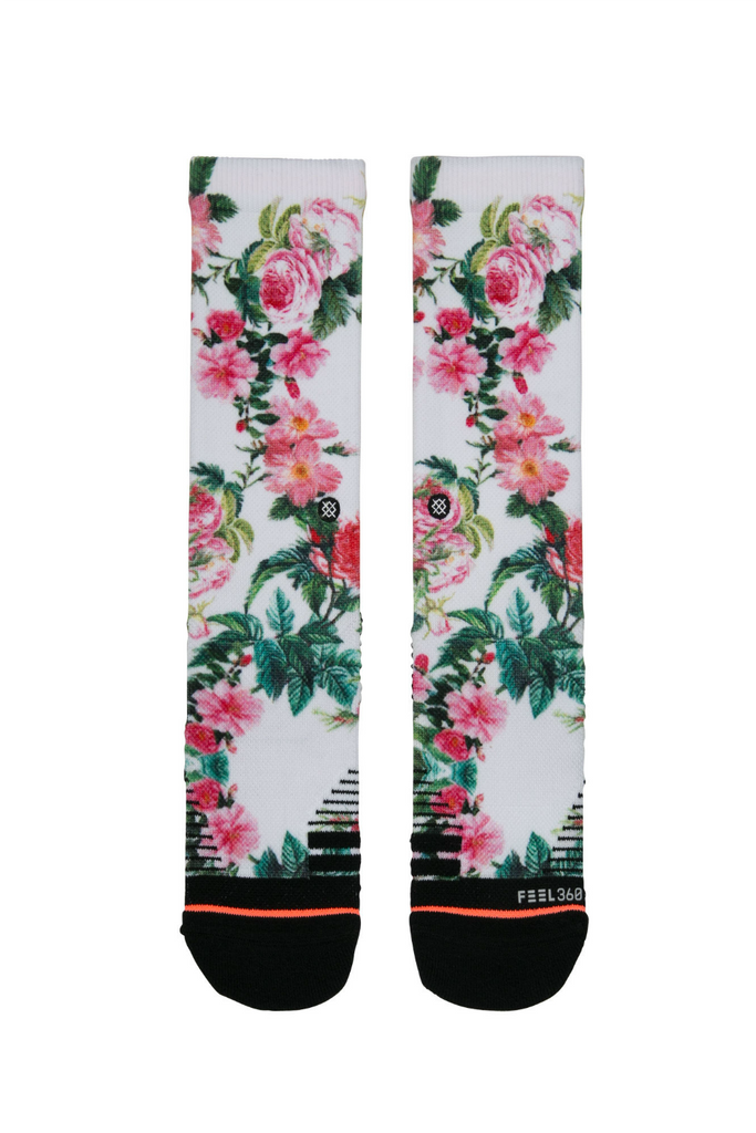 Stance - Evergreen - White - Front