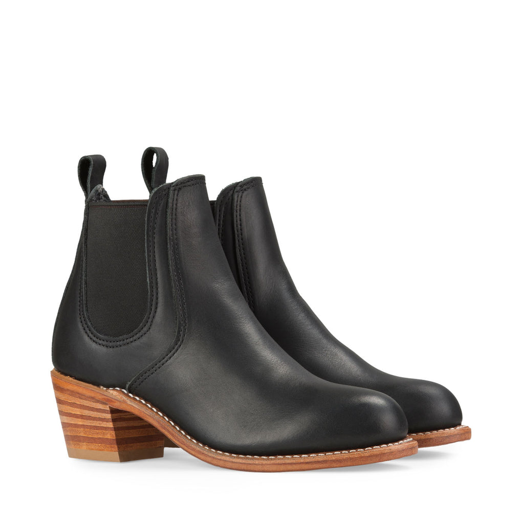 Red Wing Heritage - Harriet Boot - Black - Side