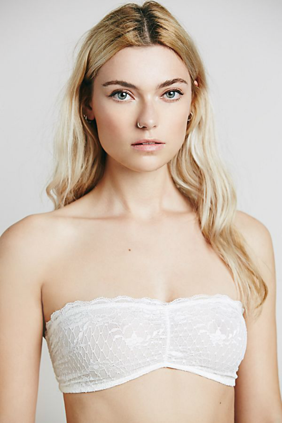 Free People - Bandeau Essential - White - Front