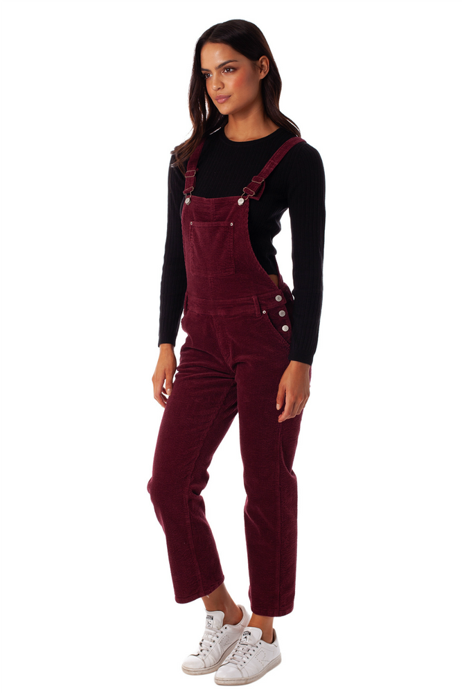 Rhythm - Edinburgh Jumpsuit - Merlot - Back