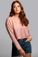 RVCA - Buzzed Fleece - Ash Rose - Front