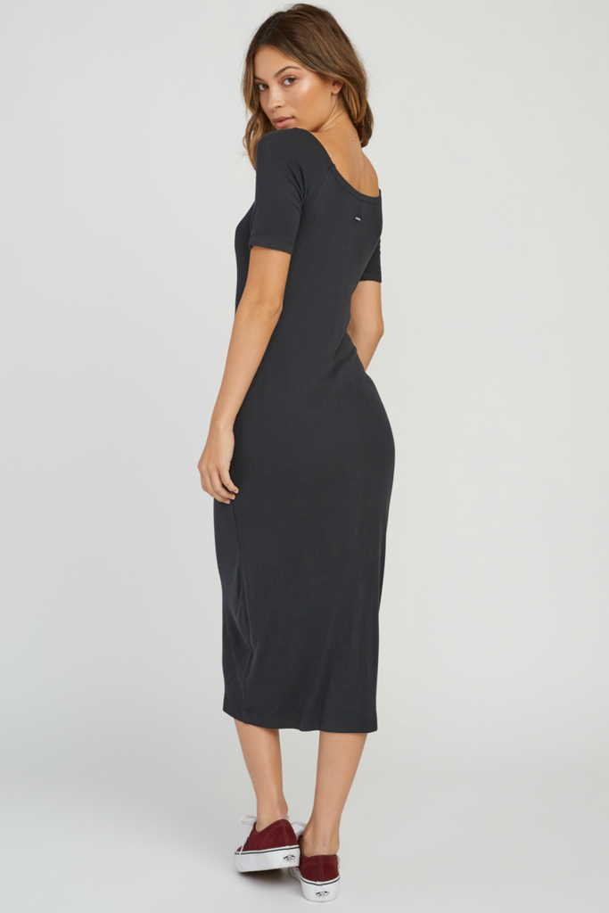 RVCA - Dia Dress - Black - Back