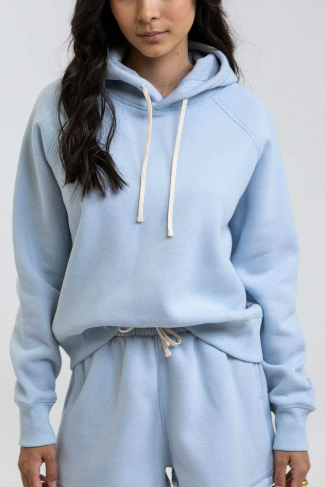Rhythm - Her Fleece Hood - Sky - Back
