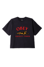 Obey - Equality & Power Tee - Off Black