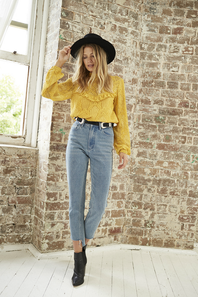 Somedays Lovin - Golden Days Blouse - Mango