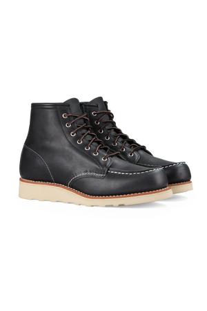 Red Wing Heritage - 6 Inch Moc Toe - Black - Profile
