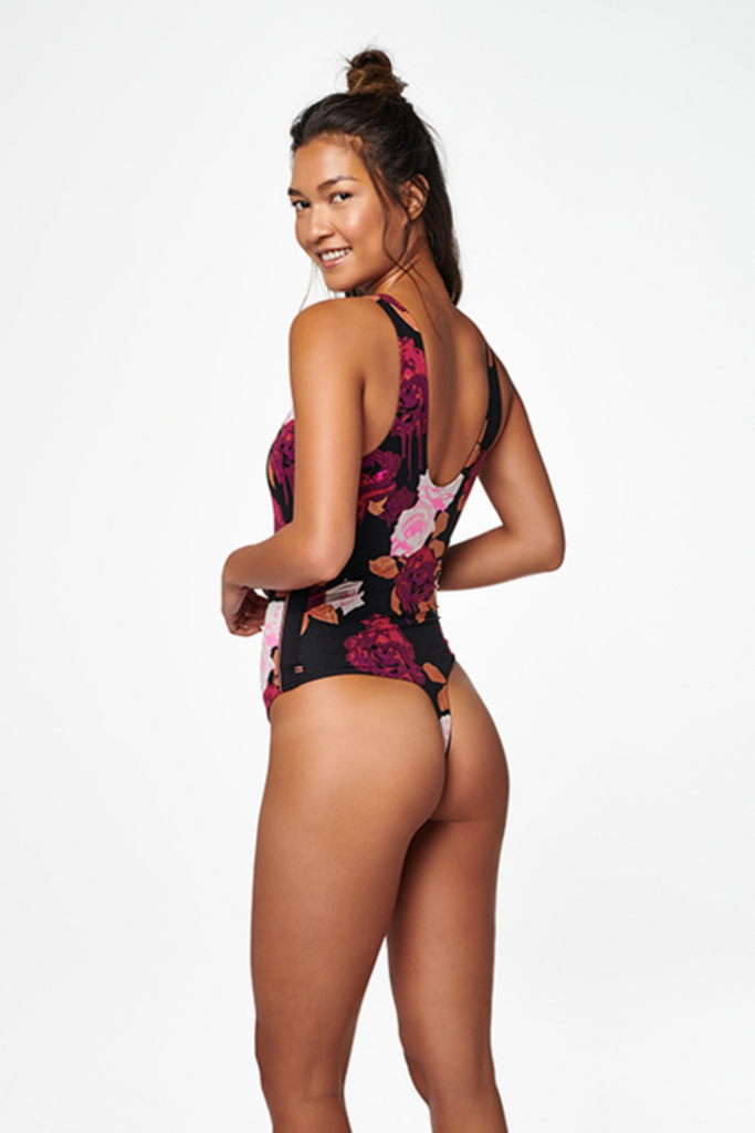 Stance - Bodysuit Thong - Midnight - Back