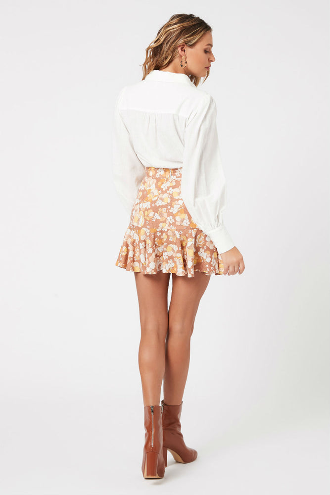 MinkPink - El Royale Mini Skirt - Multi - Back