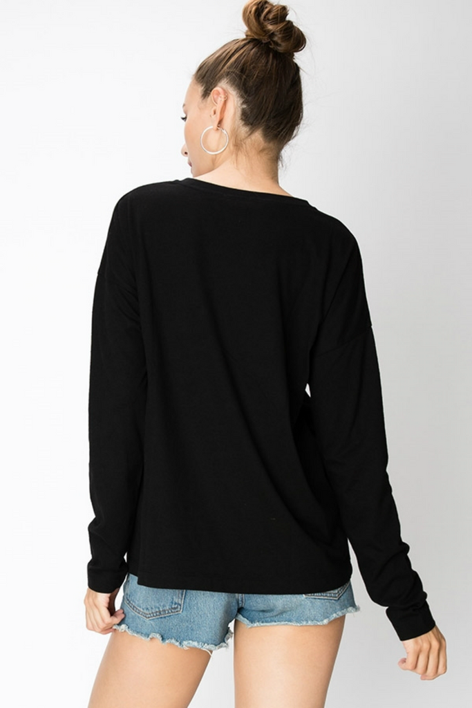Double Zero - Constance LS - Black - Back