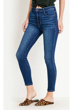 Letters to Juliet - Verona Basic 5 Pocket Skinny - Dark - Back