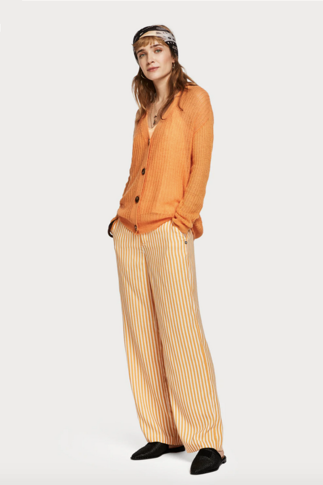 Scotch and Soda - Lightweight Cardigan - Amber