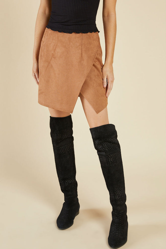 EMMY SUEDE SKIRT