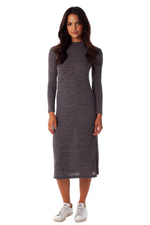 Rhythm - Oxford Dress - Charcoal - Front