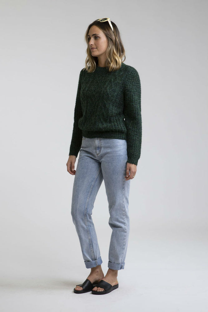 Rhythm - Valley Knit - Forest - Front