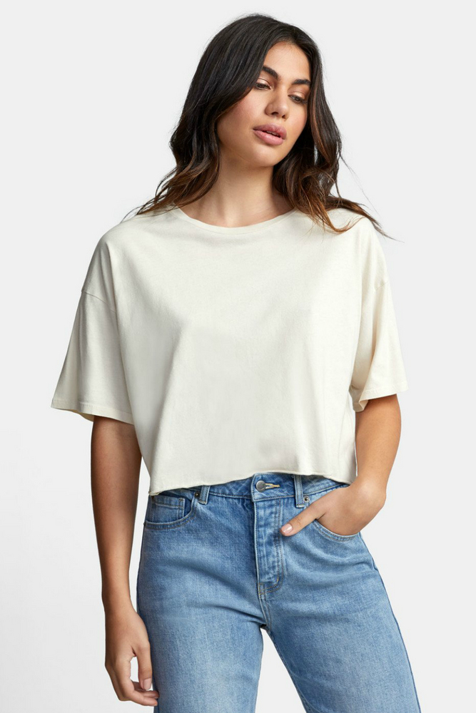 RVCA - Pepper Crop - Oatmeal - Front
