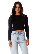 Rhythm - Melrose Knit - Black - Front