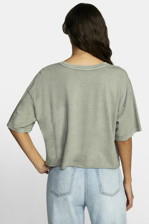 RVCA - PTC BF Crop Tee - Aloe - Back