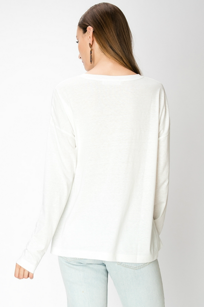 Double Zero - Constance LS - Cream - Back