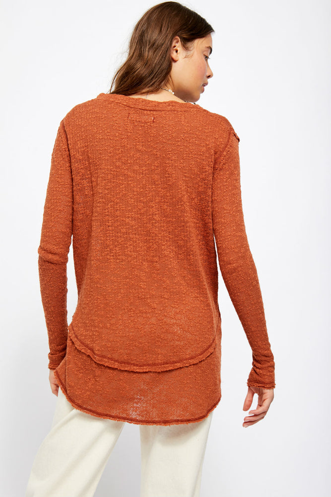Free People - Ocean Air Hacci - Copper - Back