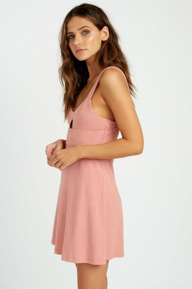 RVCA - All Talk Dress - Coco - Side