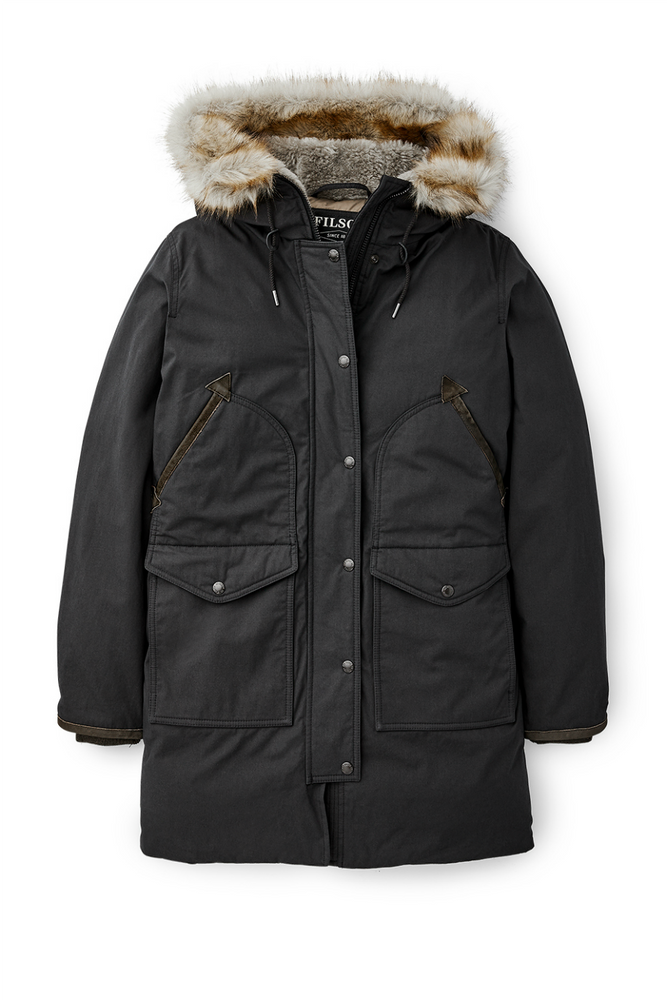 Filson - Alaska Down Parka - Faded Black - Front