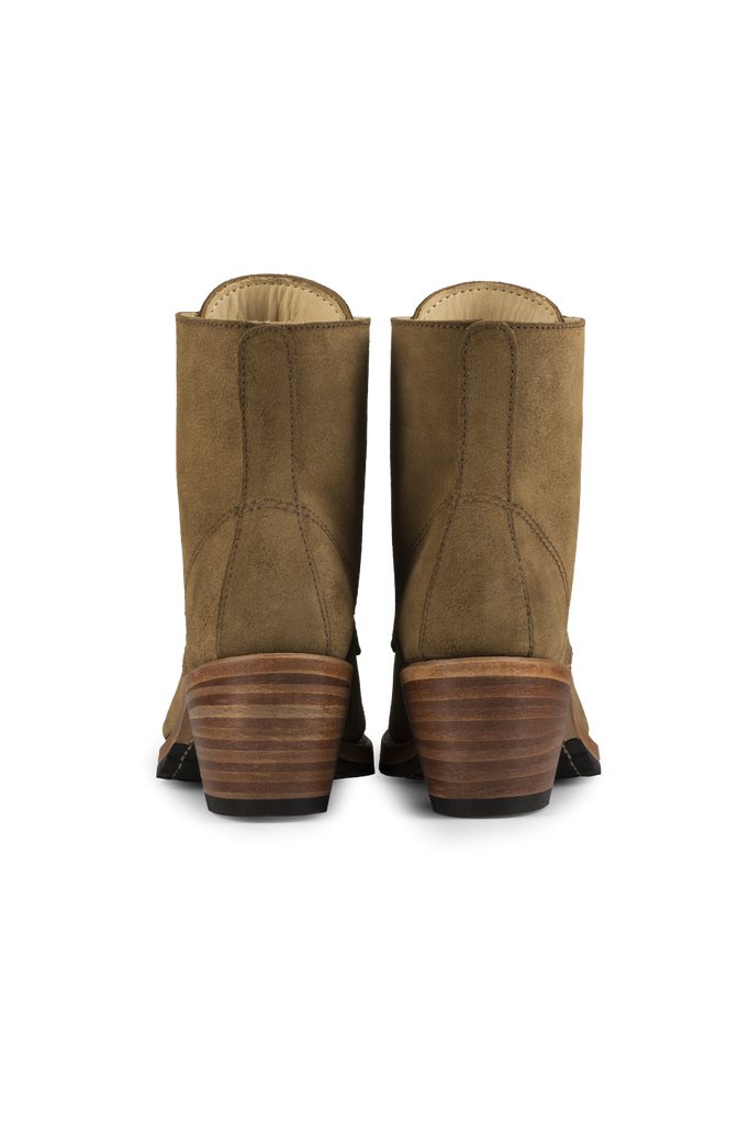 Red Wing Heritage - Clara Boot - Olive Mohave - Back
