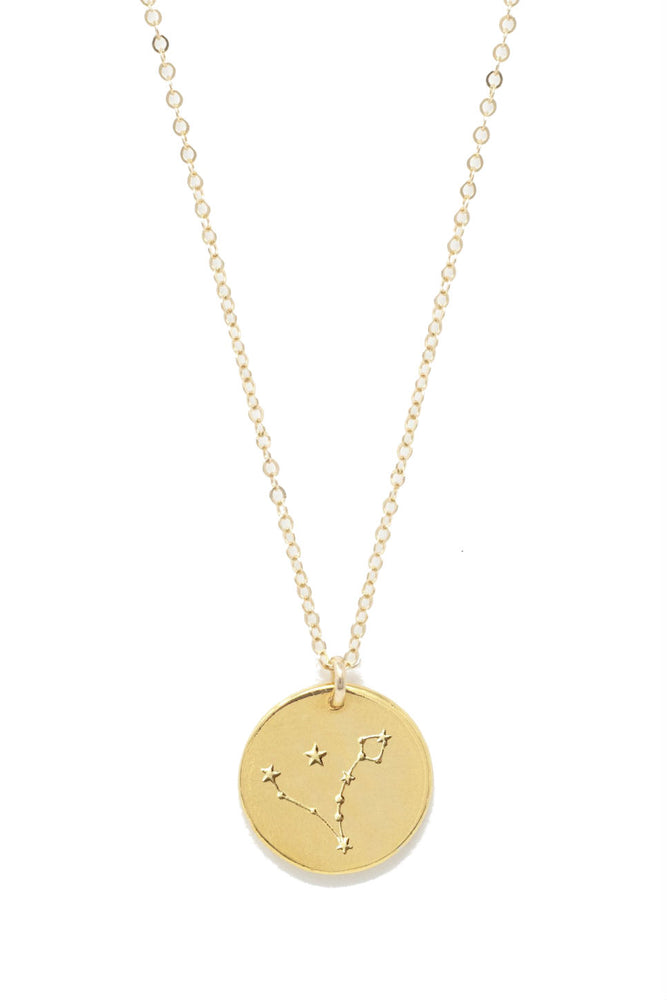 Able - Pisces Constellation Necklace - Gold