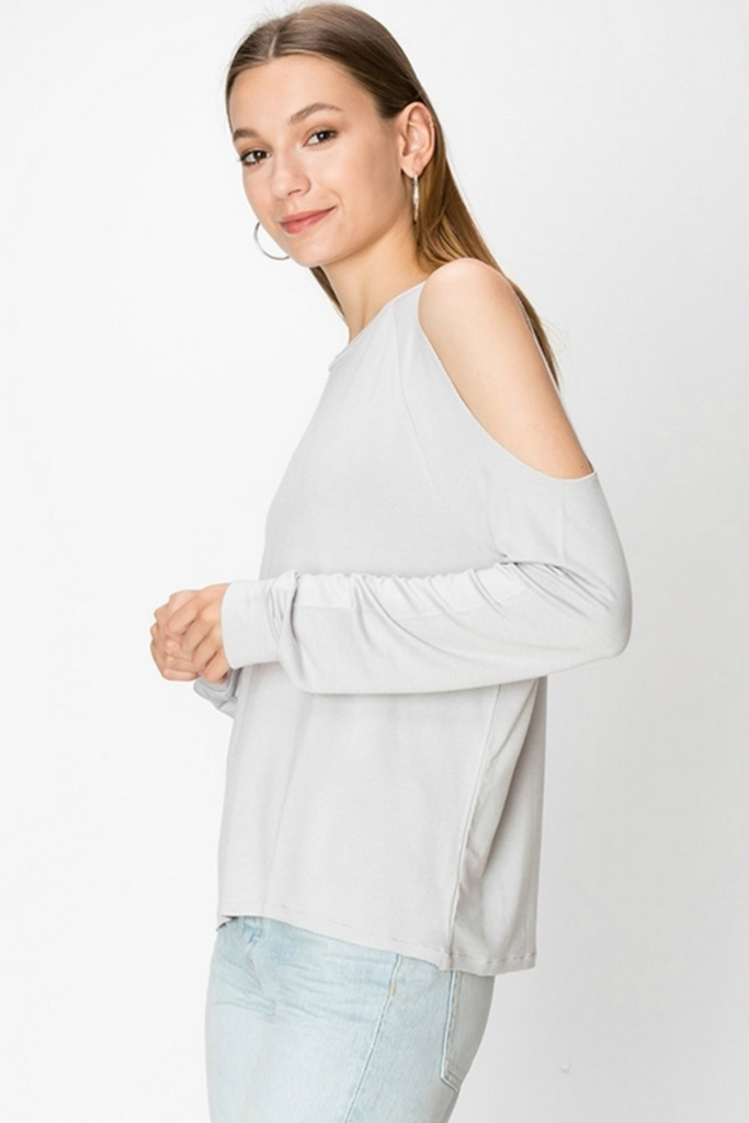 Double Zero - Carol Cold Shoulder - Cloud - Side