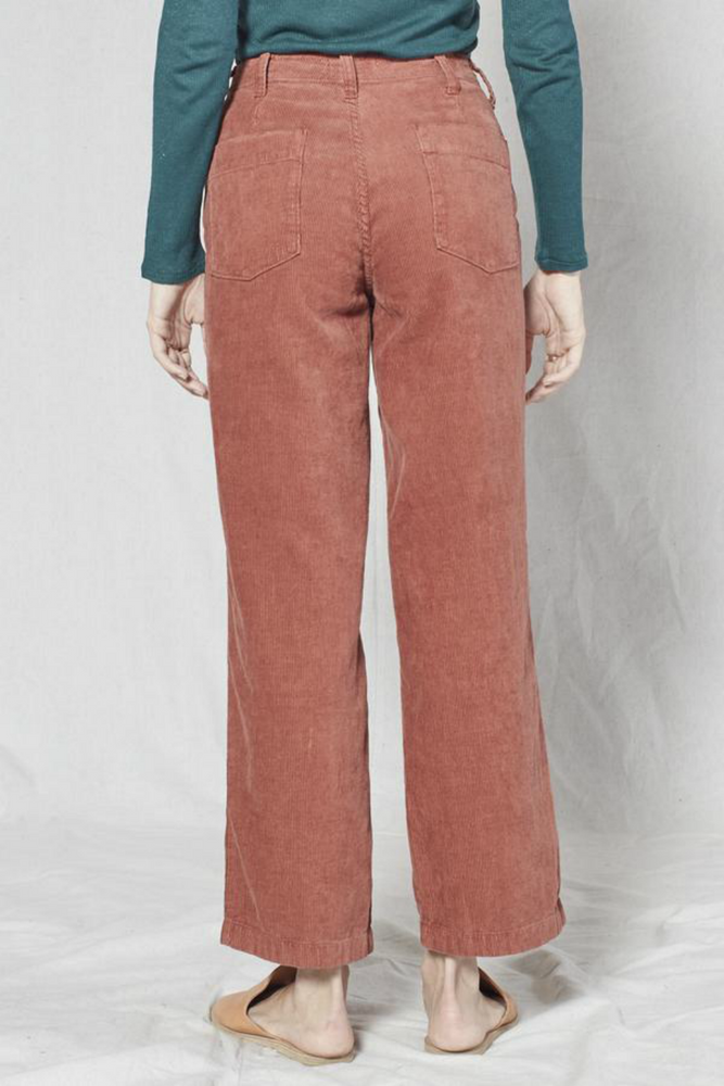 Outerknown - Corduroy Field Pant - Nutmeg - Back