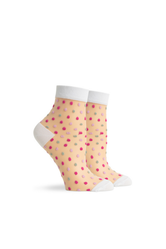 Richer Poorer - Confetti Ankle - Pink Multi