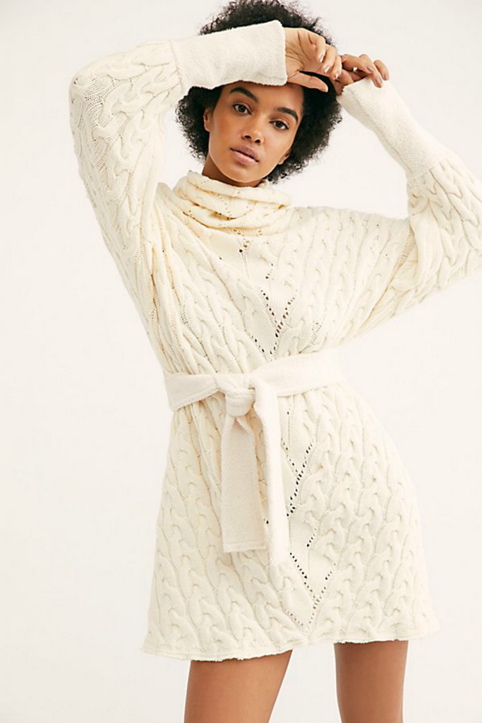 Free People - For the Love of Cables - Ivory - Front