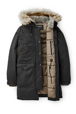 Filson - Alaska Down Parka - Faded Black - Back