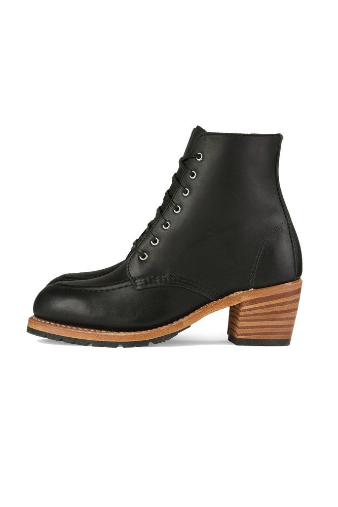 Red Wing Heritage - Clara Boot - Black - Side