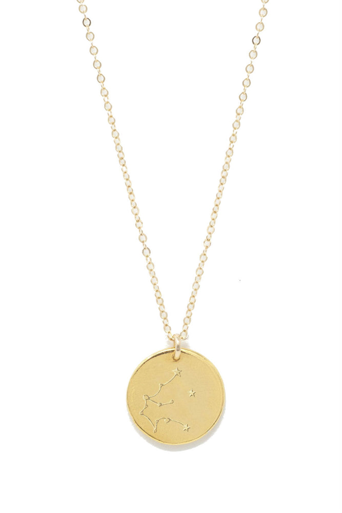Able - Aquarius Constellation Necklace - Gold