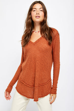 Free People - Ocean Air Hacci - Copper - Front