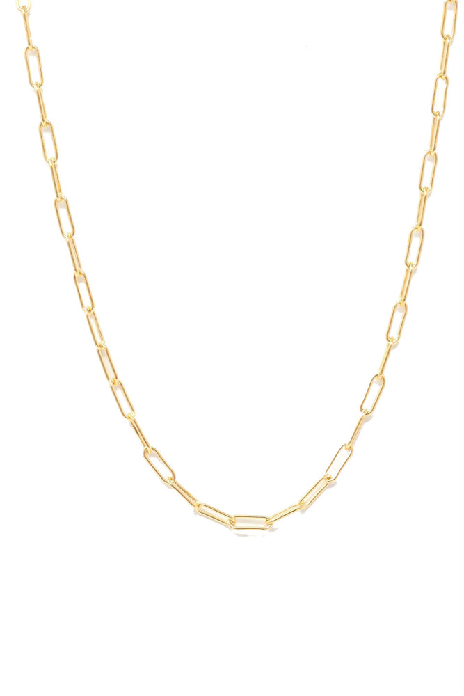 ESSENTIAL CHAIN NECKLACE Gold