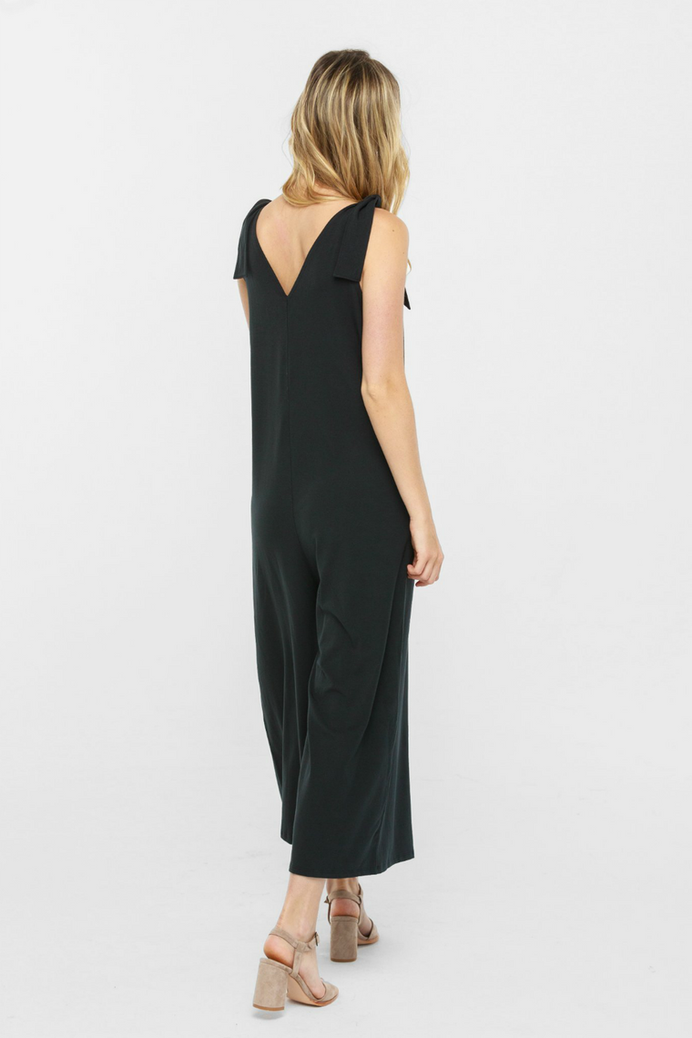 Able - Ashleigh Utility Jumpsuit - Black - Detail