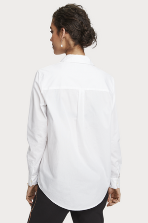 Scotch & Soda - Classic LS Button Up - White - Back