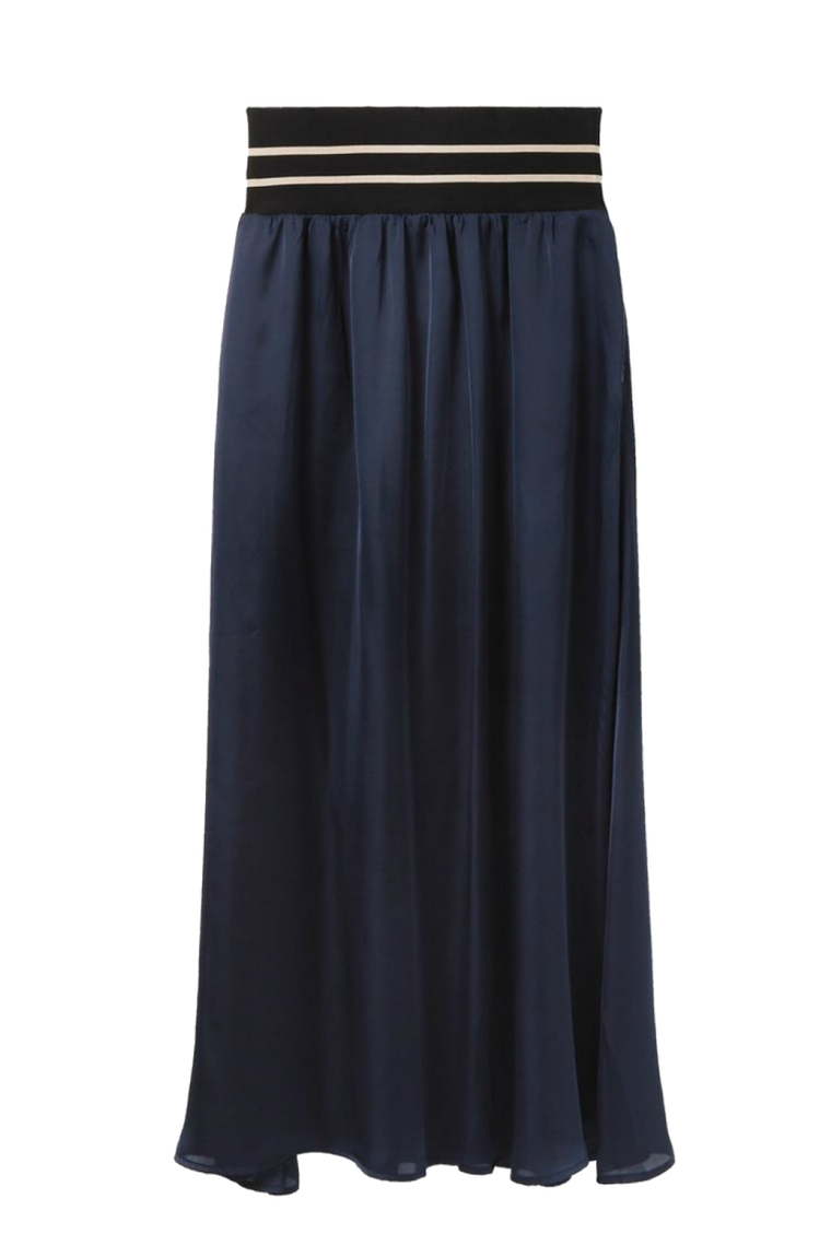 WIDE BAND MAXI SKIRT