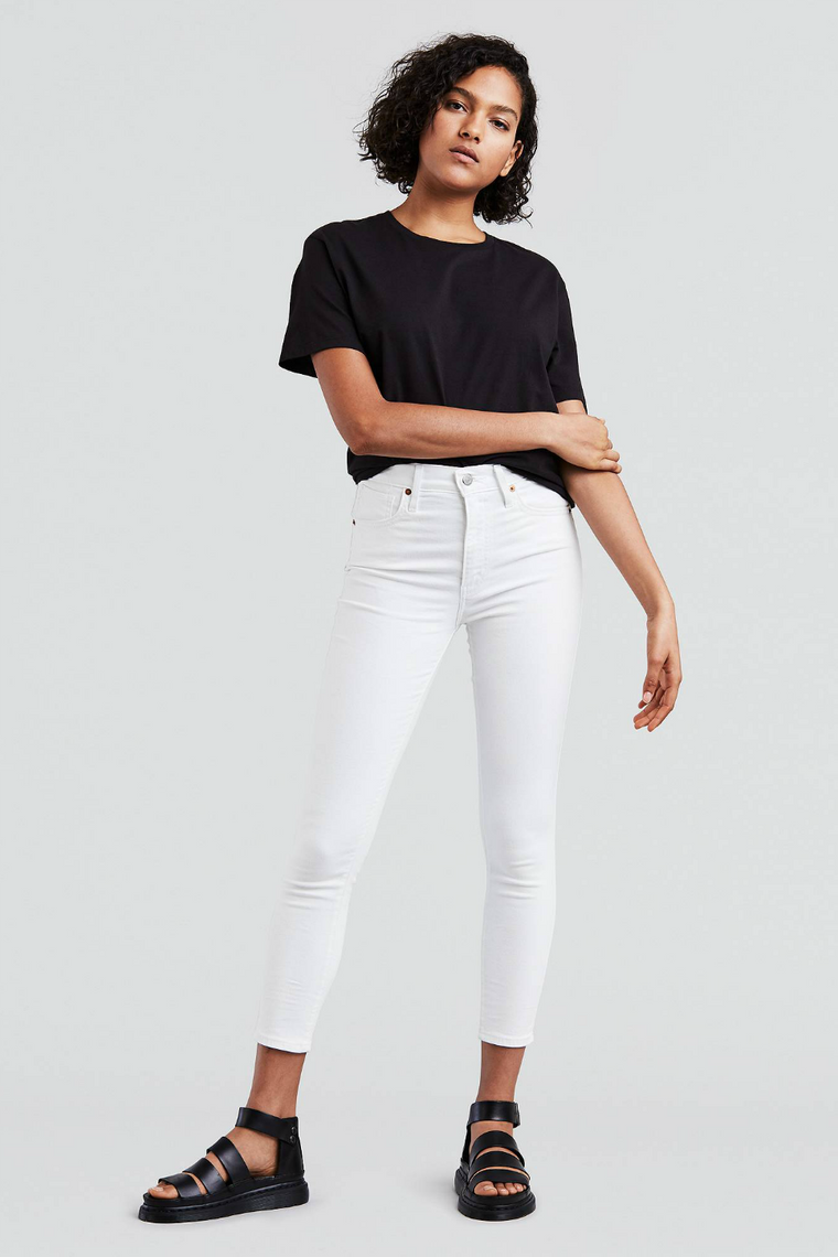 MILE HIGH ANKLE SKINNY - WESTERN WHITE