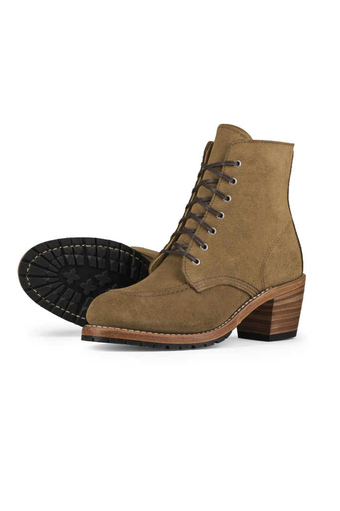 Red Wing Heritage - Clara Boot - Olive Mohave