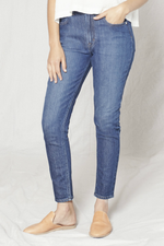 Outerknown - Strand High Rise Skinny - Indigo - Back