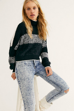 Free People - Sunbrite Sweater - Black - Front