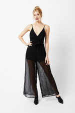 Vacate The Label - Direct Jumpsuit - Veda Stripe - Front