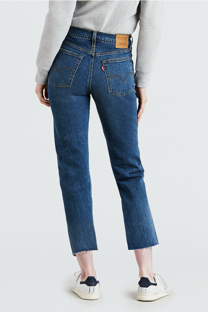 Levis - Wedgie Straight - Love Triangle - Back